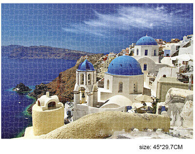 1000 Piece Jigsaw Puzzle Landscapes Decompression Game Toy Difficulty 45X30 CM 3