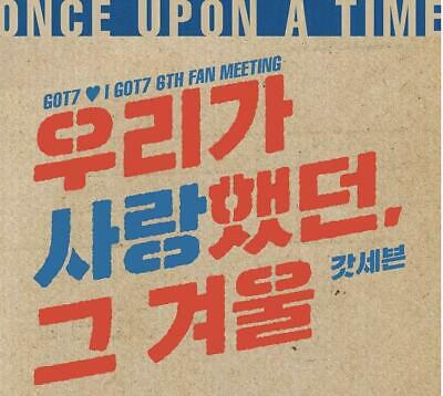 Got7 I Got7 6Th Fan Meeting Official Goods Trading Card Set Photocard Sealed 3