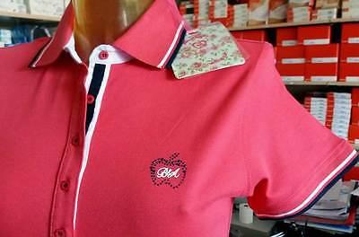 T-shirt donna Baci /& Abbracci scollo a V con logo piccolo argento art BA02113 N