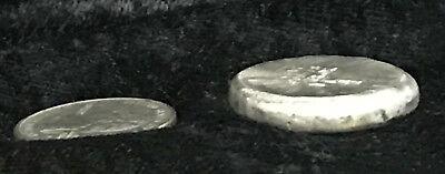 "1 TR//OZ MK BARZ   /""American Indian Head/""  ROUND .999 Fine Silver"