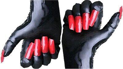 1 Paar Gummi Latex Rubber Handschuhe Gloves waschbar Größenauswahl Top Marke 7