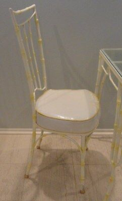 Mid Century Chinese Chippendale Style Breakfast Table + 2 Chairs