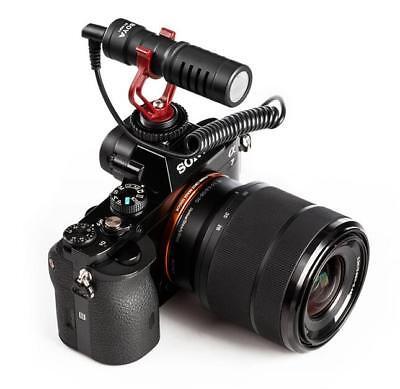 BOYA BY-MM1 Cardioid Shotgun Microphone MIC for DSLR Camera Smartphone Camcorder 6