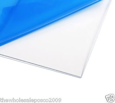 Clear Plastic Perspex® Acrylic Cut Sheet A4 Size 1mm to 10mm Thick Panels