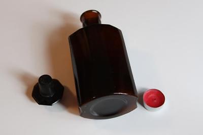 Apothekerflasche, Form selten, ACET. SABADYLLAE rund mit 4 Kanten,alt, grosse
