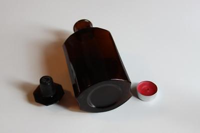 Apothekerflasche, Form selten, SIRUP. CERASI rund mit 4 Kanten,alt, grosse