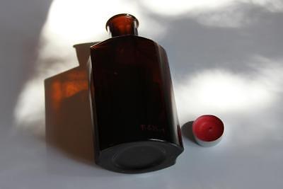 Apothekerflasche, Form selten, SIR. SYMPHYTI rund mit 4 Kanten,alt, grosse