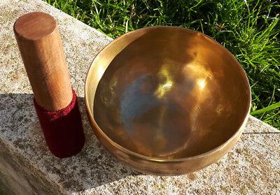 CAMPANA TIBETANA ORIGINALE 8 metalli bronzo da 50 a 10 centimetri CHO-PA NEPAL