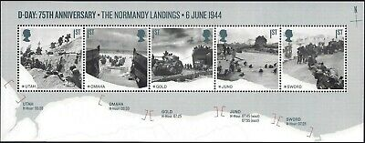 Gb 2019 Mint D-Day 75Th Presentation Pack 572 Stamps Sheet Retail Booklet Pm67 4