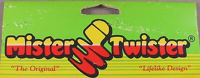 Walleye Fishing Lure 3 in Of 10 Sassy Shad Tails Original Mister Twister 1 Pk
