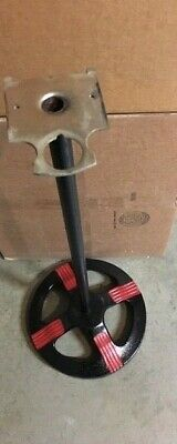 """Original FORD GUMBALL MACHINE Stand """"Hard to find this item """" black and red 2"""