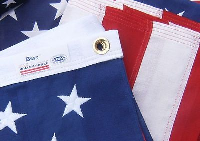 Valley Forge US American Flag 4'x6' BEST Cotton -Commercial/Heirloom Grade USA 2
