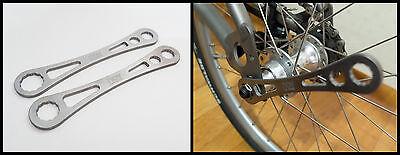 NEW!! nov Titanium Spanner - 15mm,10mm,8mm - for Brompton regular's [nov068] 6