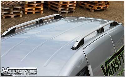 Vw Volkswagen Caddy Maxi Van Roof Rack Rails Aluminium Bars No Drill 2004+ 2010+