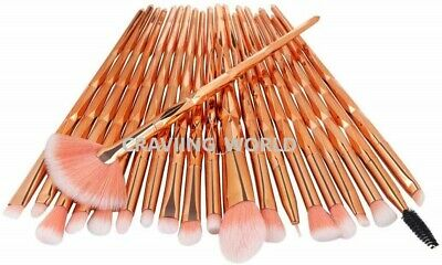 20PCS Make Up Brushes Set Eyeshadow Eyeliner Lip Powder Foundation Blusher Tool 3