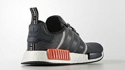 26f1c3a1d ... Adidas NMD R1 Wool Grey Orange Red 3M Size 9. S31510 Yeezy Ultra Boost  pk