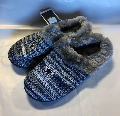 0bf1772a6 ... Dallas Cowboys Slippers Logo NEW Womens Slide House shoes! Peak Slide 2