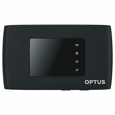 New Unlocked Optus 4GX Wifi 4G ZTE MF920v Modem Telstra Vodafone Black