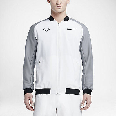 Nike Mens Premier Rafael Nadal Jacket White Gray 99 97 Picclick