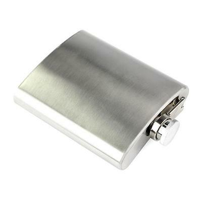 Stainless Steel Screw Cap 1-10 OZ Hip Flask Liquor Whiskey Alcohol Bottle Funnel