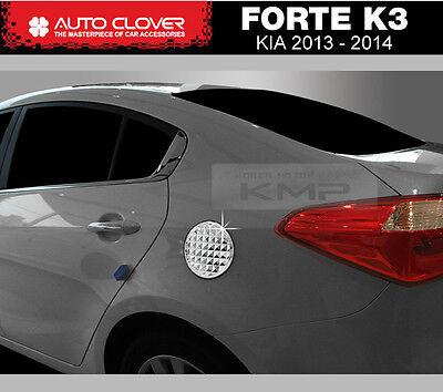 Chrome Fuel Cap Cover Molding Garnish Trim B357 For KIA 2015-2018 Sorento UM