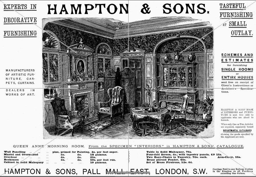 Rare Hampton & Son's Pall Mall Mahogany Twin Pedestal Writing Partners Desk 3