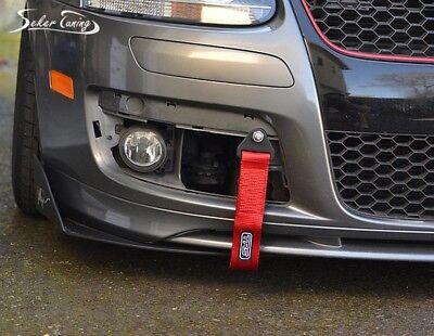 Für Fiat Rennsport Abschleppband Abschlepp Schlaufe Motorsport Tow Hook Band