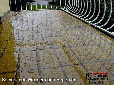 FLIESEN AUßEN ABDICHTEN ABDICHTUNG Für Treppenfliesen Mosaik Balkon - Mosaik fliesen für balkon