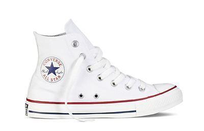 ORIGINALI CONVERSE All Star Chuck Taylor Hi Alte Bianche Optical ...