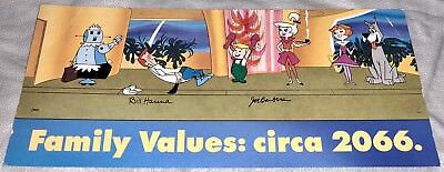 Hanna Barbera Cel Jetsons Promo Title Card A New Leash On Life