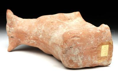 Greek Terracotta Votive Bull Lot 11C
