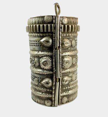 Kuchi Bracelet, Massive, Vintage Bracelet, Afghan, Wide, Vintage Gypsy, Old Pati 3