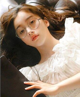 c35ef86e48b0 ... Japanese Mori Girl VINTAGE Round Glasses Eyewear Metal Frame Lolita 4  Colors 4
