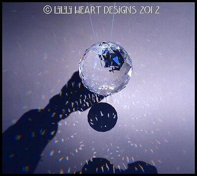 SWAROVSKI CRYSTAL 60mm BEST HANGING BALL Rainbow Maker Lilli Heart Designs 3