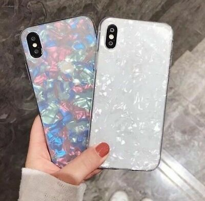 Case for iPhone XR XS MAX 8 7 6 6S Plus ShockProof Marble Phone Cover Silicone 3