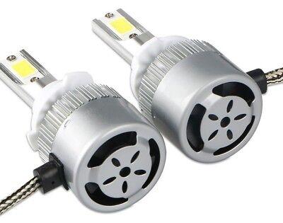 Kit 2 ampoules LED H1 72w 6000k blanc pur / phare lampe feux de croisement NEUF 3