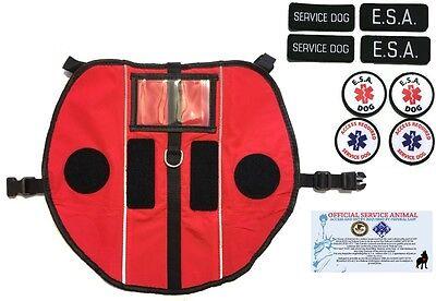ALL ACCESS CANINE™ Emotional Support Animal ESA Service Dog Vest Pocket Harness 2
