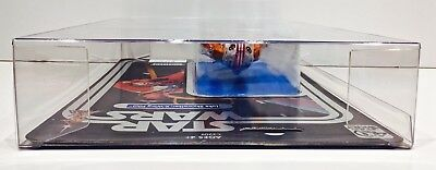 1 Clear Protector For CELEBRATION LUKE X-WING STAR WARS 40TH Display Case Box 6