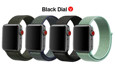 Woven Nylon Band For Apple Watch Sport Loop iWatch Series 4/3/2/1 38/42/40/44mm 10