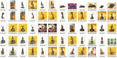 Erótico Bronze-Skulptur Frauenmodell Erótico para Usted y Él un Mujer Acto 7