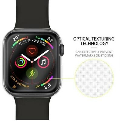 Full Cover TPU Case iWatch Screen Protector For Apple Watch Series 4 3/ 2 / 1 7