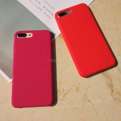 COVER per Iphone X /XS /Max/ XR / 8 /7/ 6 Plus CUSTODIA Slim Silicone Genuine 7