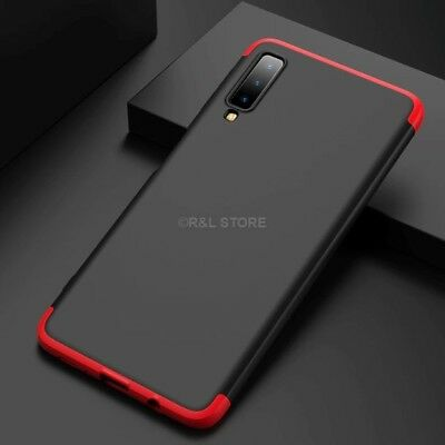 COVER per Samsung Galaxy A7 2018 CUSTODIA Fronte Retro 360° ORIGINALE ARMOR CASE 10