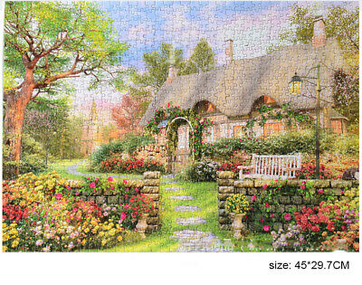 1000 Piece Jigsaw Puzzle Landscapes Decompression Game Toy Difficulty 45X30 CM 6