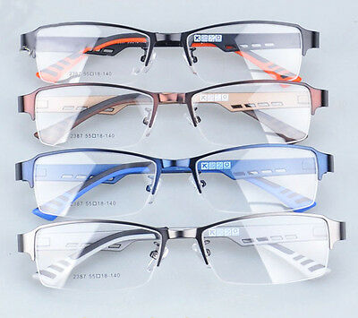 58bc1b6a2c67 ... TR90 Men s Sports Fashion Half rimless Eyeglass Frames Optical Eyewear  Rx 2387 3