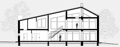 Modern House Plan Building Plans Blueprints /& Material List 2018  306 m #2