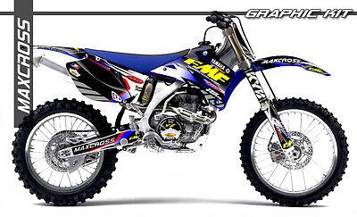 Yamaha Wr250F Wr450F Yz250F Yz450F 2006 2007 2009 Maxcross Graphics Kit Decals