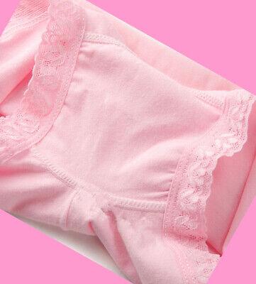 4 Pack Girls Boxer Shorts Underwear Briefs Cotton Knickers Age 4-11 years 3
