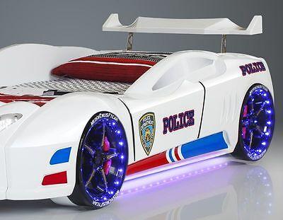 AUTOBETT POLICE LED Scheinwerfer Radbeleuchtung ...