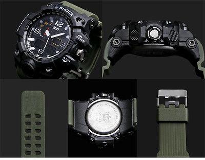 SMAEL Mens Sport Watches Military Shock Analog Quartz Digital Waterproof Watch S 8